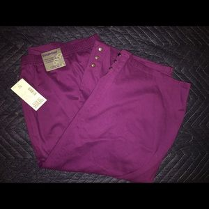 Purple Pull-in Capris - 2x